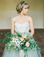 lace-strapless-wedding-gown-dusty-blue-tulle-skirt-2