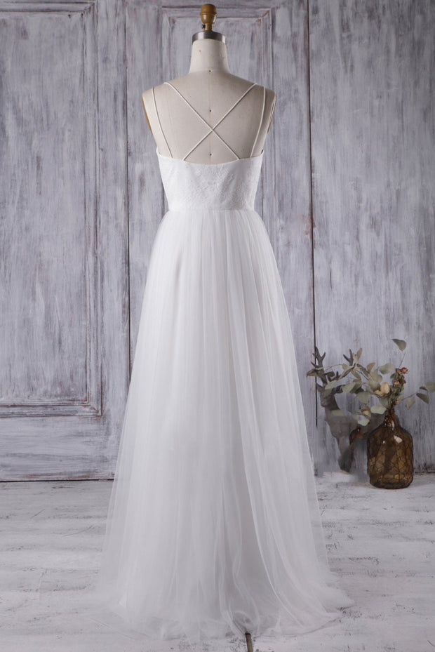 lace-tulle-white-boho-wedding-dress-with-strappy-back-1