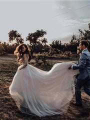 long-sleeves-tulle-wedding-gown-with-sheer-scoop-neckline-2