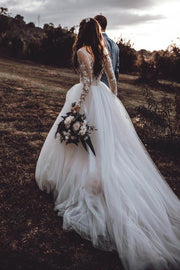 long-sleeves-tulle-wedding-gown-with-sheer-scoop-neckline