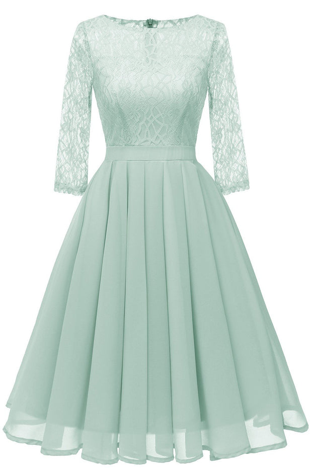 mint-green-chiffon-lace-wedding-party-dress-with-sleeves