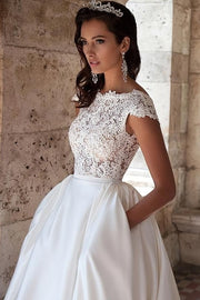 modern-a-line-lace-satin-wedding-gown-with-pockets-1
