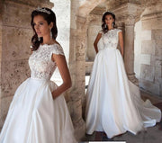 modern-a-line-lace-satin-wedding-gown-with-pockets-2