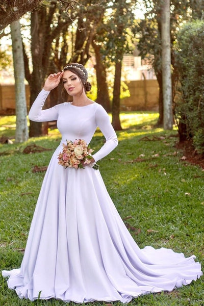modest-white-bridal-gown-with-long-sleeves