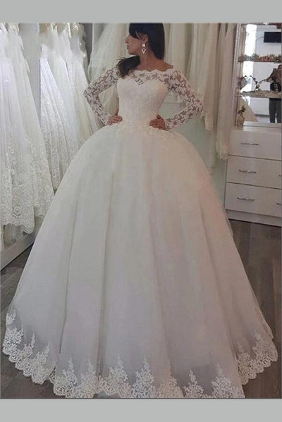 off-the-shoulder-lace-bridal-dress-with-long-sleeves-vestido-de-novia