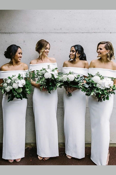 off-the-shoulder-white-long-bridesmaid-dresses-for-adults