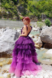 purple-tiered-tulle-skirt-prom-dresses-deep-v-neckline-1