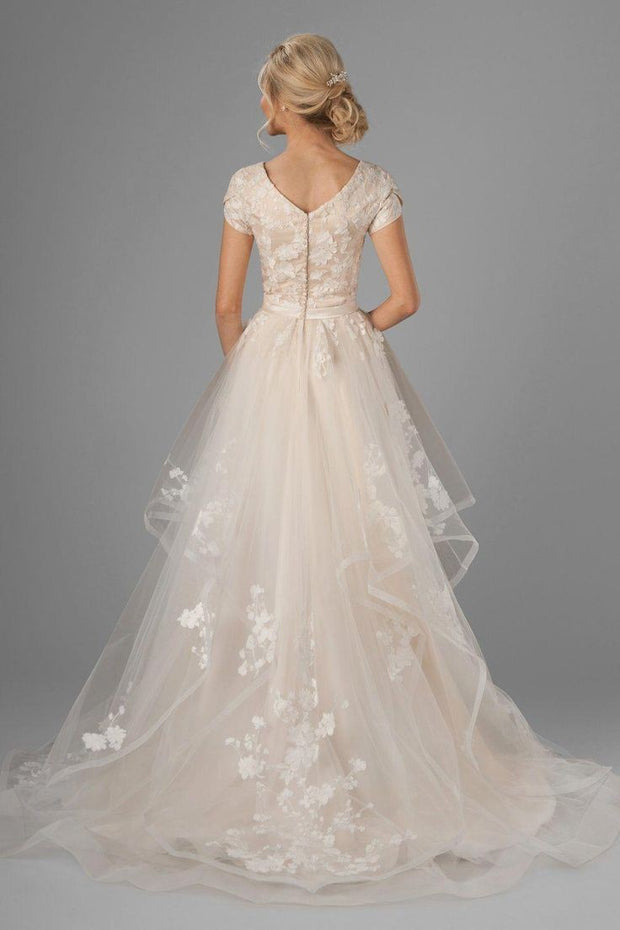 romantic-horsehair-lace-wedding-gown-with-short-sleeves-1