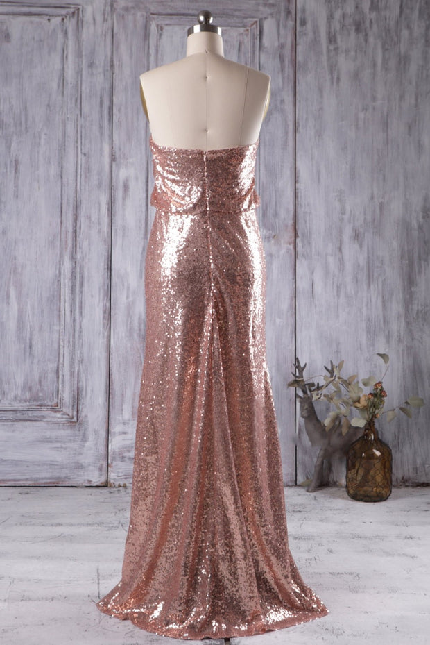 rose-gold-sequins-bridesmaid-dresses-with-strapless-bodice-1