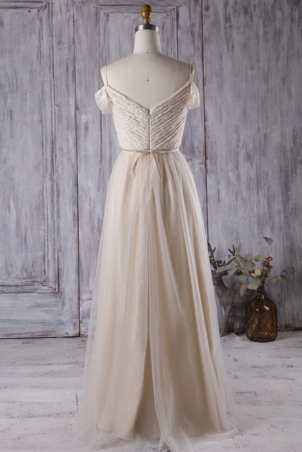 ruching-lace-tulle-bridesmaid-gown-with-off-the-shoulder-1