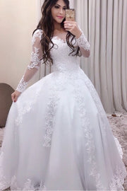 sheer-long-sleeves-lace-bridal-dress-online-1