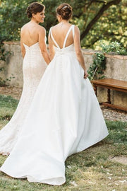 simple-long-train-garden-wedding-gown-with-boat-neck-1