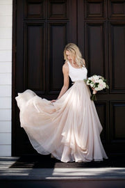 sleeveless-spandex-chiffon-rustic-wedding-dress-with-stones-belt-2