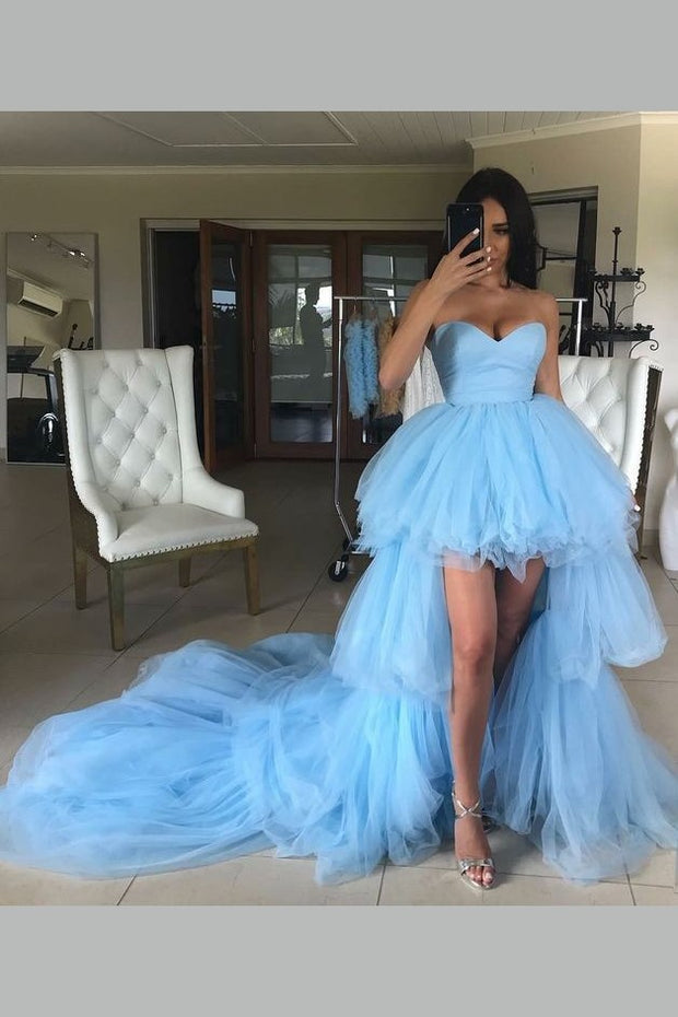sweetheart-high-low-prom-gown-tulle-tiered-train