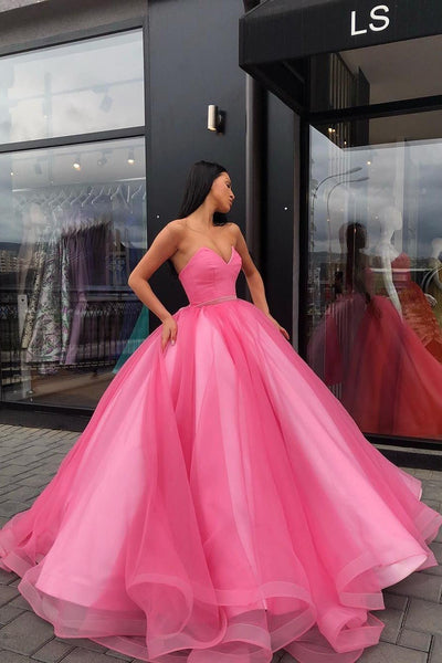 sweetheart-prom-ball-gown-dresses-tulle-skirt-satin-inside