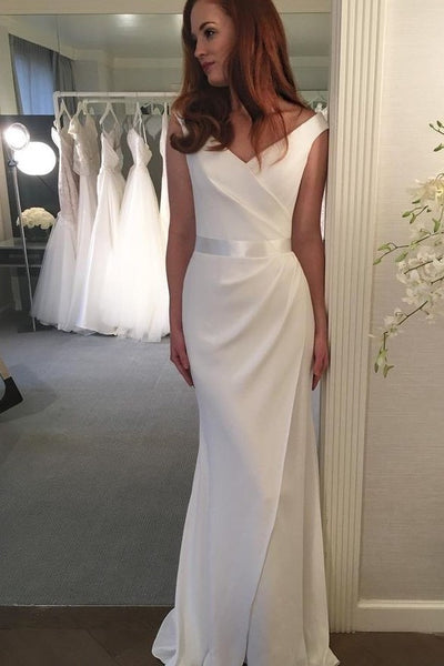 v-neckline-sheath-bridal-dress-gown-with-slit-skirt