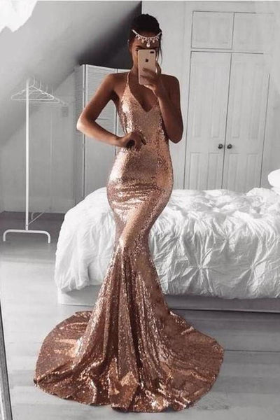 v-neckline-sparkling-sequin-prom-dress-mermaid-train