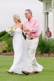 white-chiffon-long-wedding-dress-for-golf-course-1