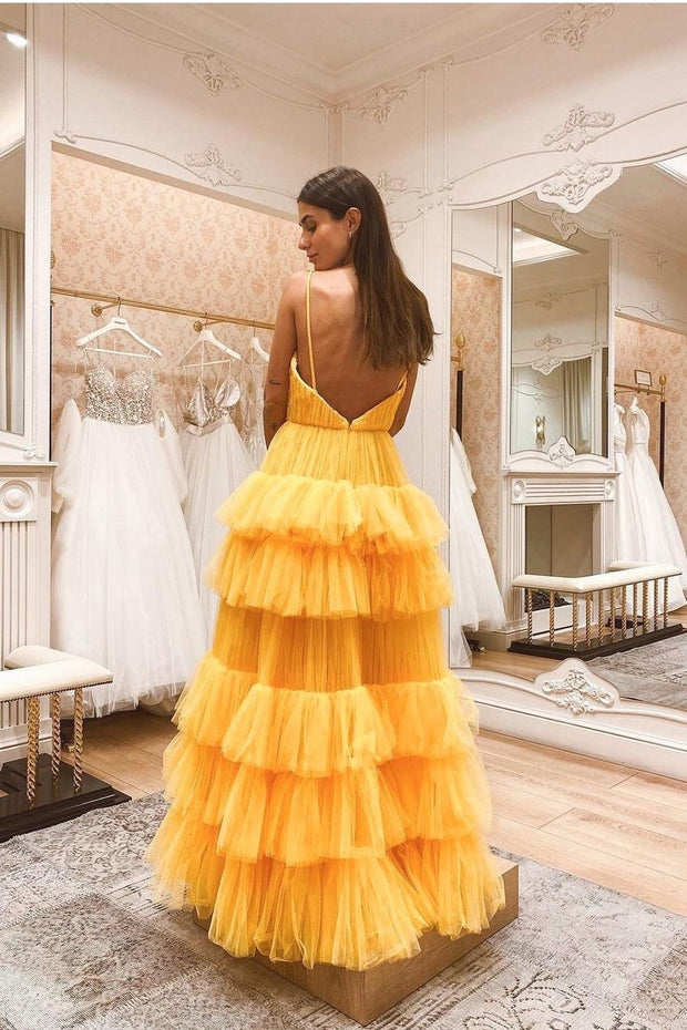 yellow-floor-length-prom-gown-with-tiered-skirt-1