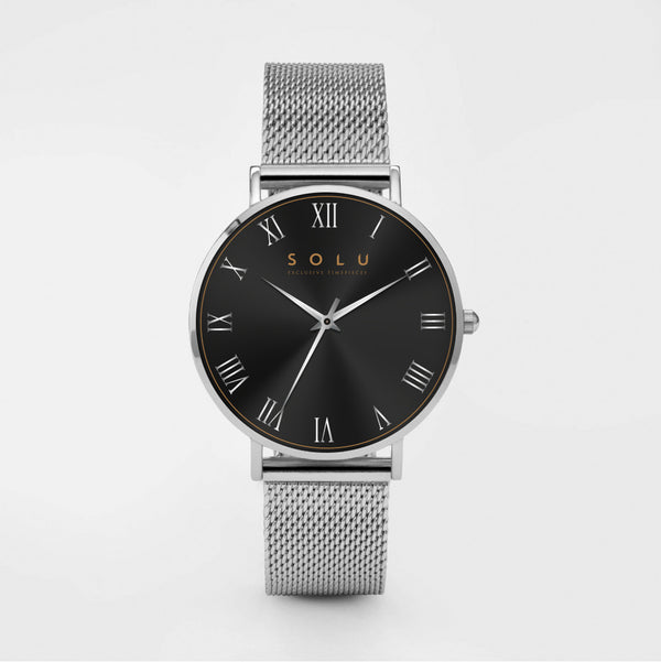 Dena Silver Black 40MM