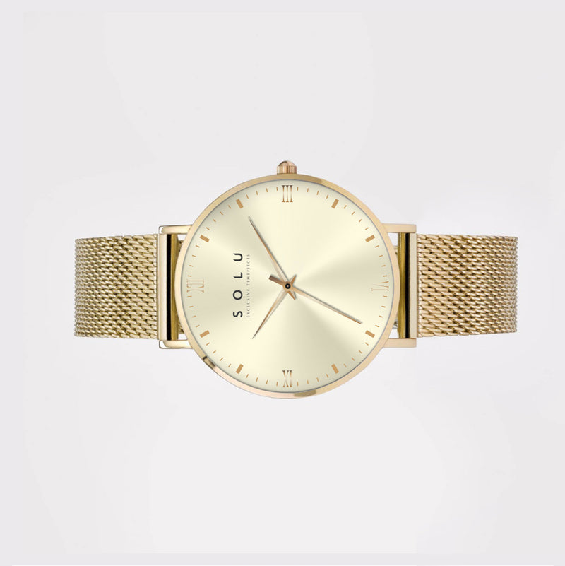 Mia Gold White 40MM