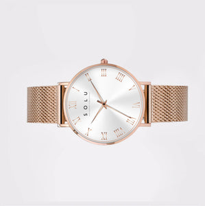 Dena Rose Gold White 40MM