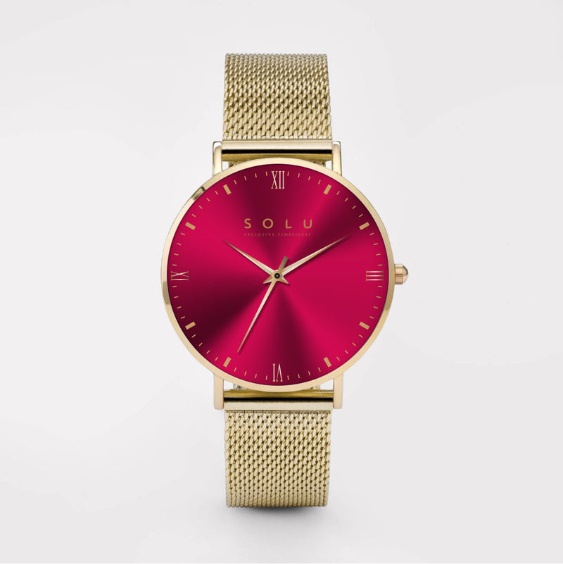 Mia Gold Red 40MM