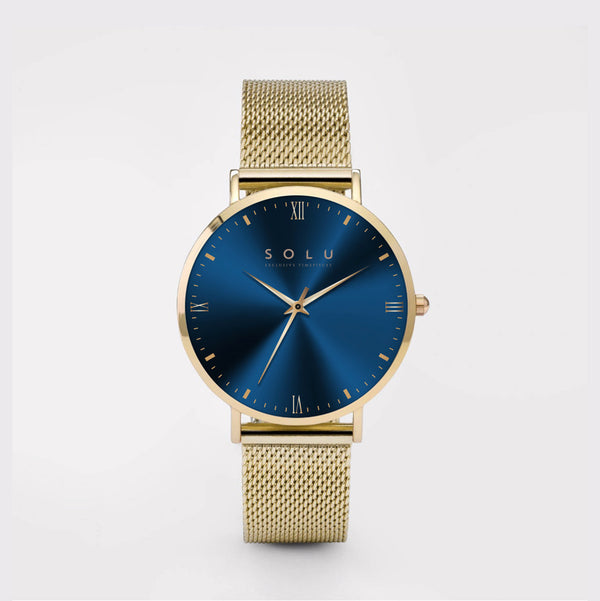 Mia Gold Blue 36MM
