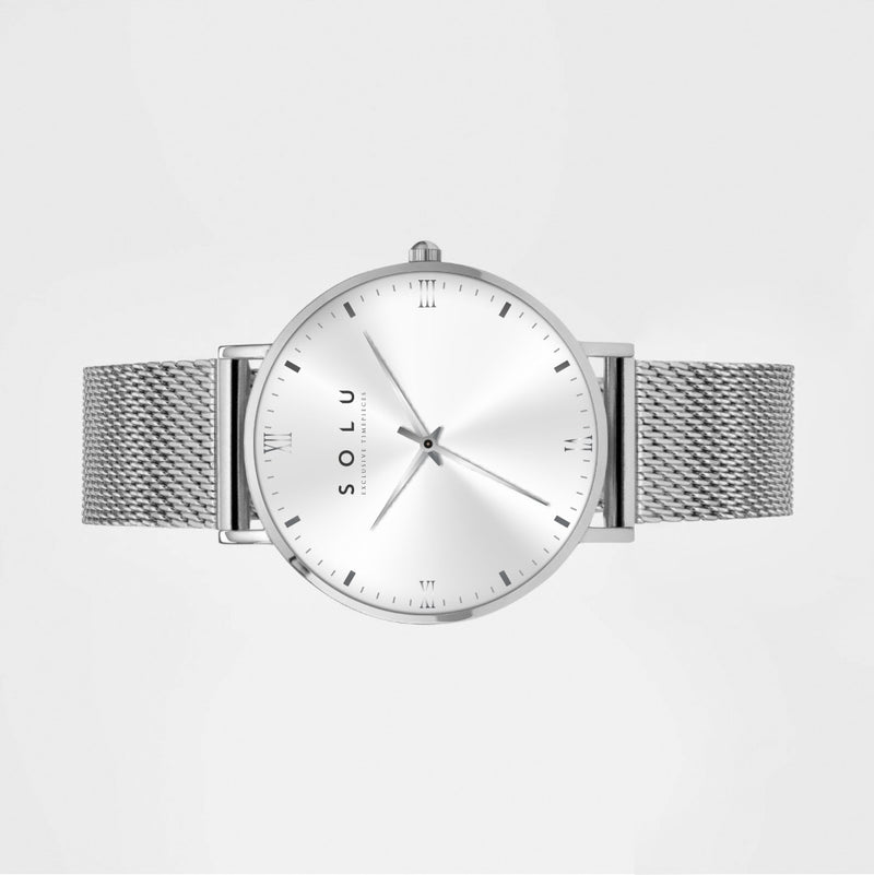 Mia Silver White 40MM