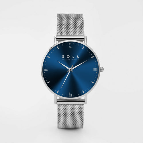 Mia Silver Blue 40MM