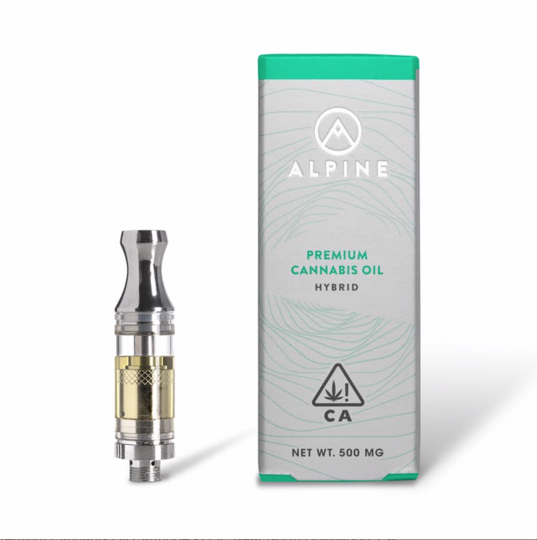ALPINE - 500GM CARTRIDGE - HYBRID - OG KUSH-CARTRIDGE-Emberz Cannabis Delivery