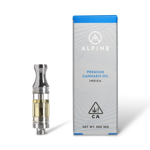 ALPINE - 500GM CARTRIDGE - INDICA - GRANDDADDY PURPLE-CARTRIDGE-Emberz Cannabis Delivery