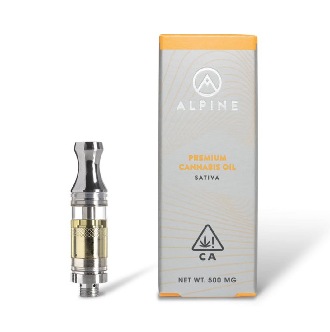 ALPINE - 500GM CARTRIDGE - SATIVA - JACK HERER-CARTRIDGE-Emberz Cannabis Delivery