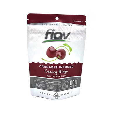 FLAV - CANNABIS INFUSED - CHERRY RINGS-EDIBLE-Emberz Cannabis Delivery