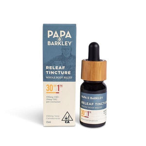 PAPA & BARKLEY - RELEAF TINCTURE 30/1-CBD-Emberz Cannabis Delivery