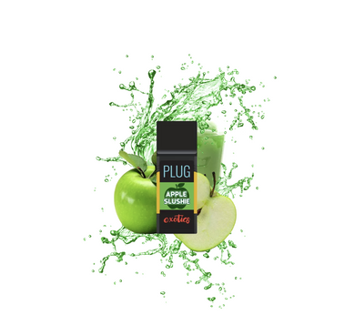 PLUG N PLAY - EXOTICS APPLE SLUSHIE - 1G-CARTRIDGE-Emberz Cannabis Delivery