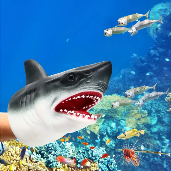 ( 🎊🎅🎁Buy two get one free & free shipping🎁 ) Shark Hand Puppet