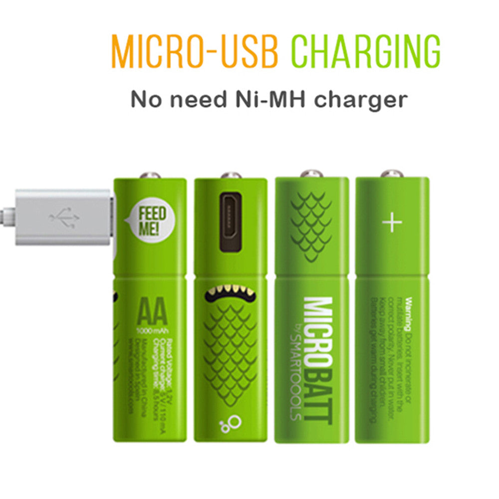 Micro-usb Rechargeable Battery