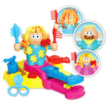 Popular Kids Funny Magic DIY Hairdresser Toy Color Clay