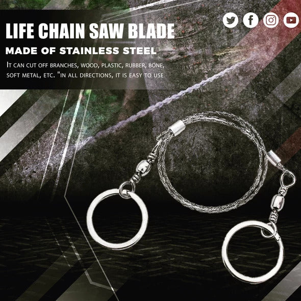 360 Degree Life Chain Saw Blade