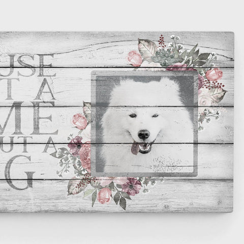 'A House is Not a Home', Vintage, Floral