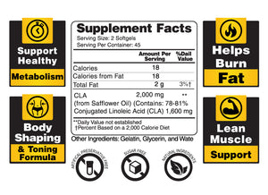 CLA Slim - Conjugated Linoleic Acid