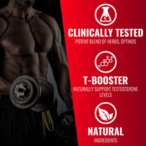 N.O.3 Bulgarian Tribulus + OptiNOs: Testosterone Booster