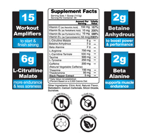 OptiForce Pre Workout (3 Flavors)