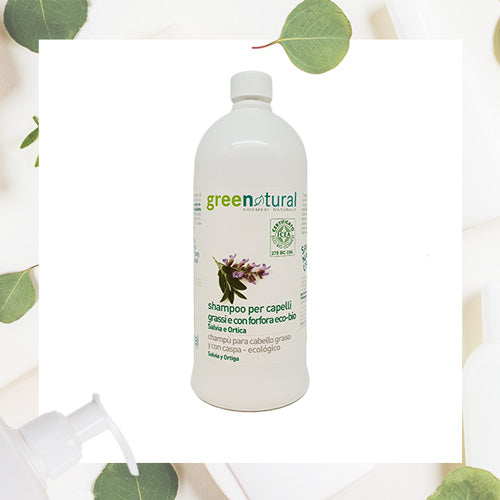 Shampoo Antiforfora Salvia e Ortica - GreeNatural