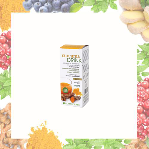 Curcuma Drink 240 ml - Farmaderbe