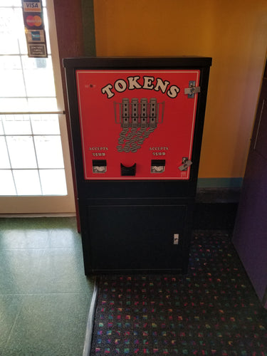American Changer Token Machine - $3510.00 (Only sold after all redemption games are sold)