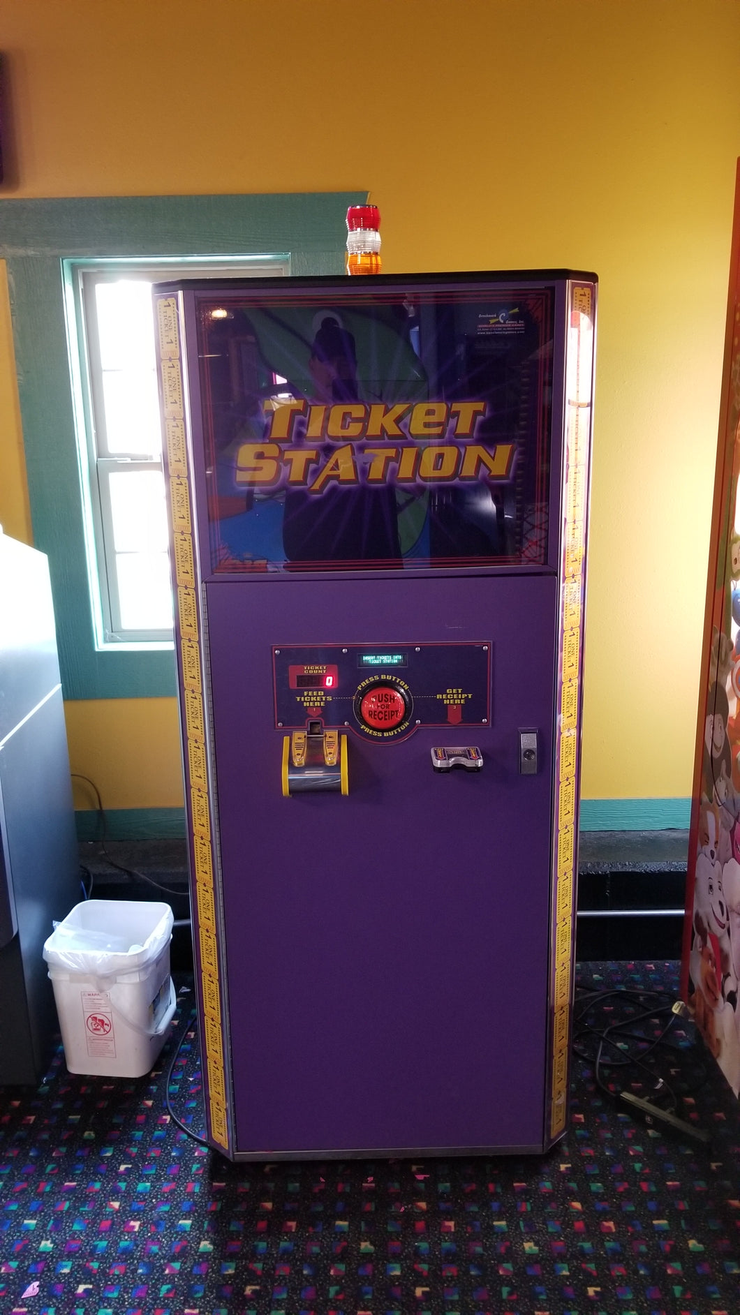 Benchmark Ticket Station - $3510.00 (Only sold after all redemption games are sold)