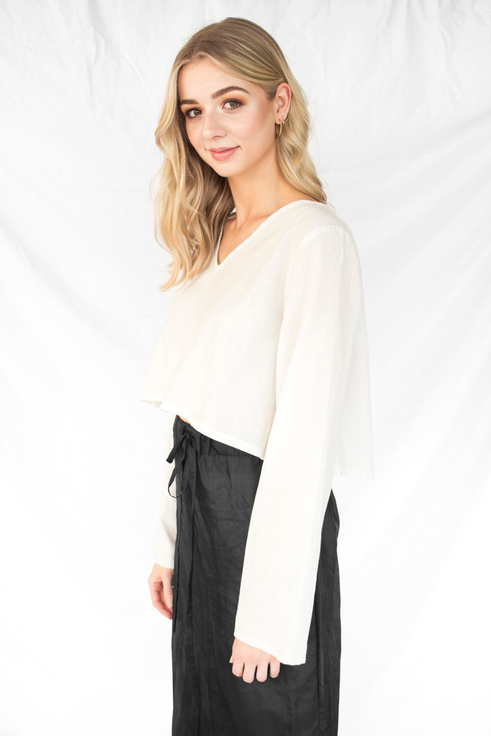 Ethical Long Sleeved Crop