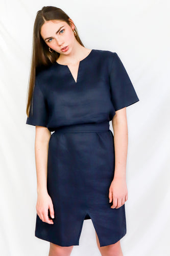 Navy Ethical Business Dress